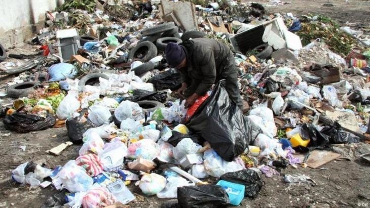 Müllsammler in Tunesien, Foto: DW