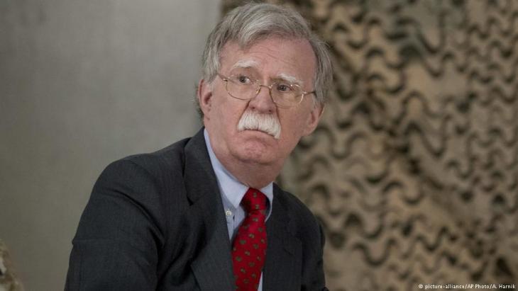 US-Sicherheitsberater John Bolton; Foto: picture-alliance/AP