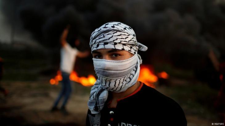 Symbolbild Intifada; Foto: Reuters
