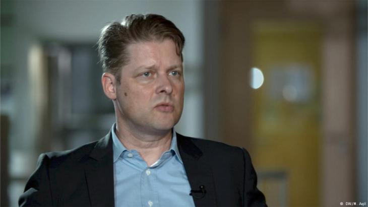 Nahost-Experte Guido Steinberg von der SWP in Berlin; Foto: DW