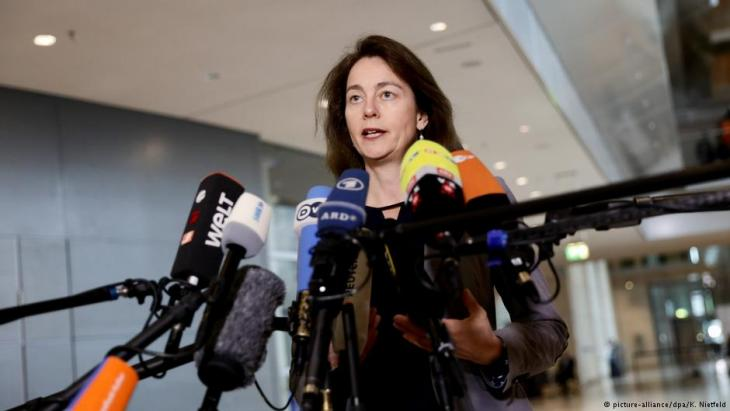 Bundesjustizministerin Katarina Barley (SPD); Foto: picture-alliance/dpa