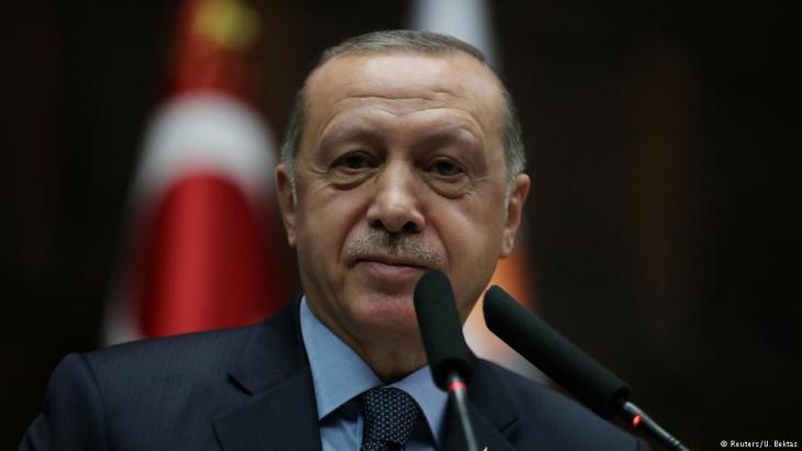 Der türkische Präsident Recep Tayyip Erdoğan ; Foto: Reuters