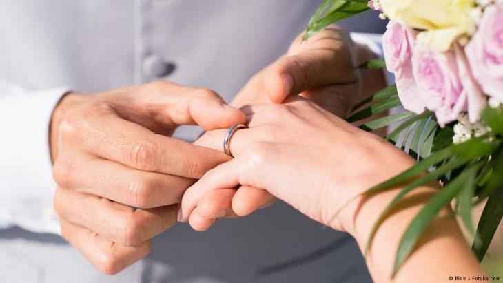 Symbolbild Eheringe/Hochzeit; Foto: Rido - Fotolia.com