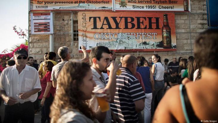 Das Taybeh-Oktoberfest; Foto: Getty Images