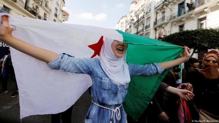 Proteste gegen Bouteflika am 10. März 2019 in Algier; Foto: Reuters