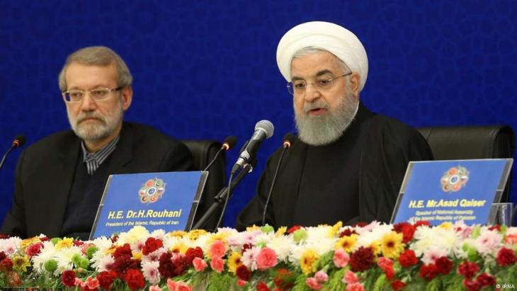 Irans Präsident Hassan Rohani; Foto: IRNA