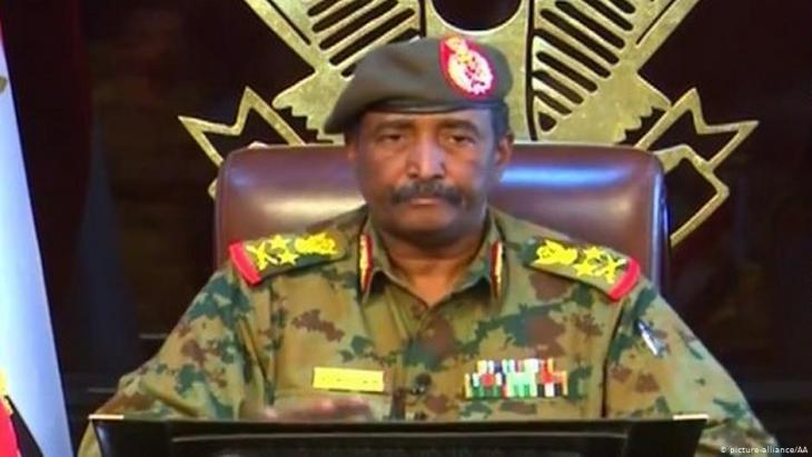 Der Chef des neuen sudanesischen Militärrats, General Abdel Fattah al-Burhan; Foto: picture-alliance/AA