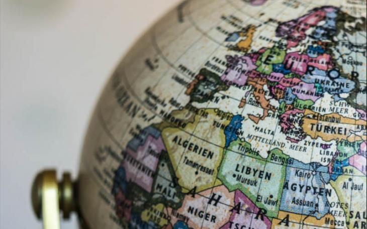 Ausschnitt Globus Mittelmeerländer; Quelle: Abrahamisches Forum
