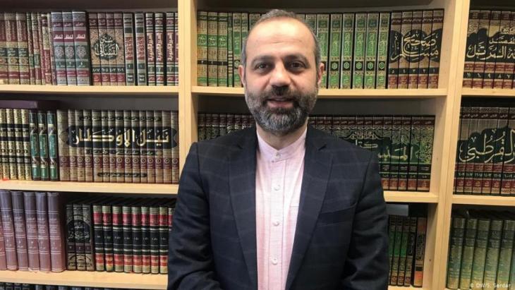 Murat Gül ist Imam und Präsident der Islamischen Föderation in Berlin. Foto: DW