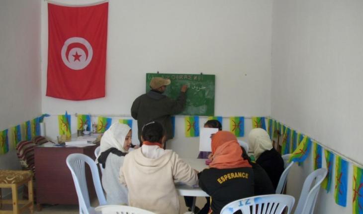 """Gratis-Bildungsangebot des Vereins """"Azrou"""" in Tunesien; Foto: Lina Shanak"""