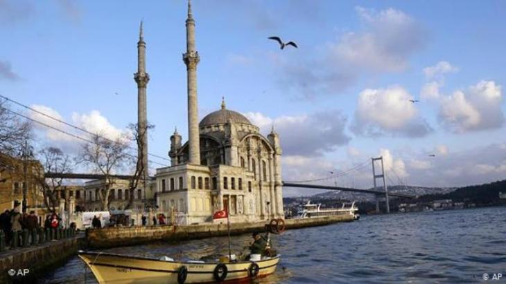 Blick auf den Bosporus in Istanbul; Foto: AP