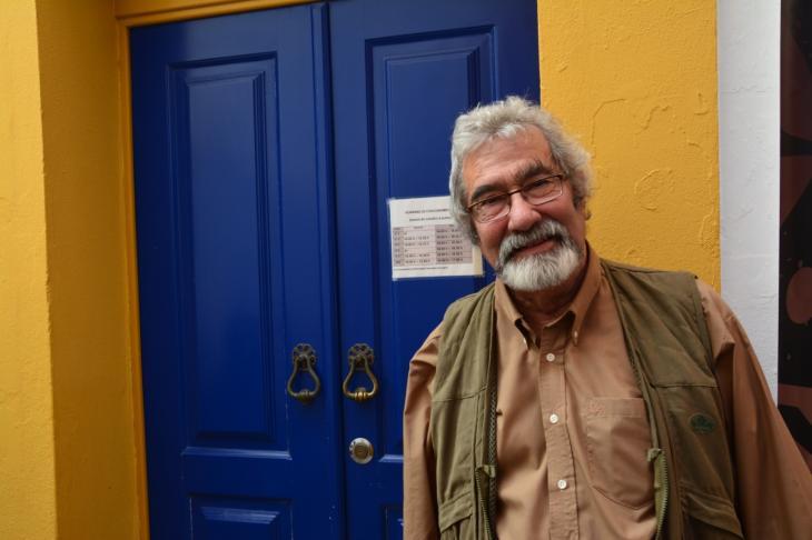 Der portugiesische Archäologe Cláudio Torres; Foto: Marta Vidal