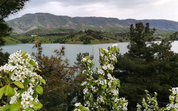 Blick auf die Berglandschaft bei Sulaimaniya; Foto: Dara Alani