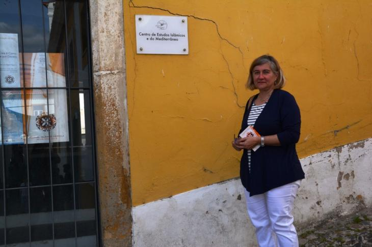Susana Martínez, Professorin für Mittelalterliche Geschichte und Archäologie an der Universität von Évora; Foto: Marta Vidal