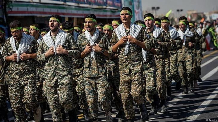 Revolutionswächter in Teheran; Iran; Foto: Tasnim