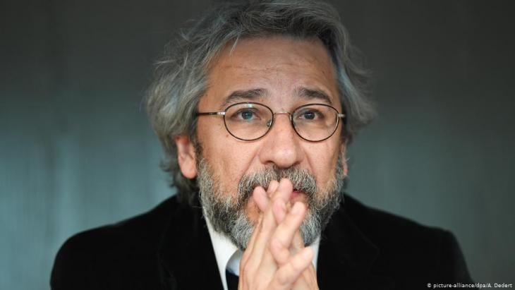 Der türkische Journalist Can Dündar; Foto: picture-alliance/dpa