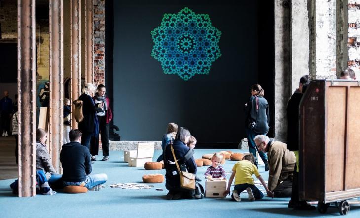 """""""Vergessene Aufklärungen – unbekannte Geschichten über den Islam in der zeitgenössischen Kunst""""; Foto: Goethe-Institut/ Walther Le Kon"""