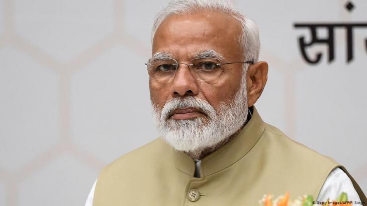 Indiens Premier Narendra Modi; Foto: Getty Images/AFP