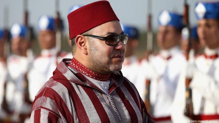 Marokkos König Mohammed VI.; Foto: Getty Images/C. Jackson