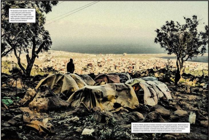 "Bildauszug aus Carlos Spottornos und Guillermo Abrils ""La Grieta""; Quelle: Astiberri Ediciones"