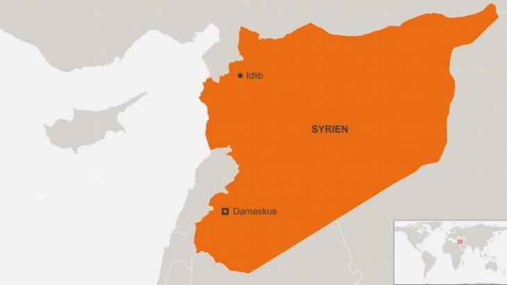 Die Provinz Idlib grenzt direkt an die Türkei. Foto: DW