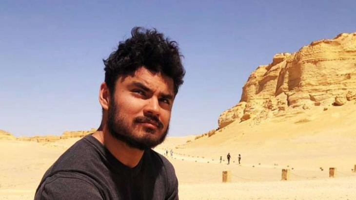 Hani Mohseni ist Stipendiat des Avicenna-Begabtenförderungswerks. Foto: privat