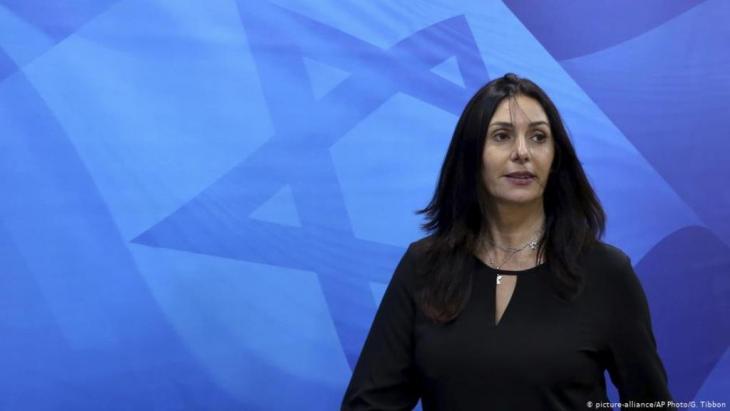 Kulturministerin Miri Regev ist in der Kulturszene höchst umstritten