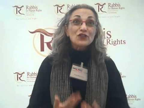 Rabbinerin Nava Hefetz von der Initiative Rabbis for Human Rights; Quelle: YouTube