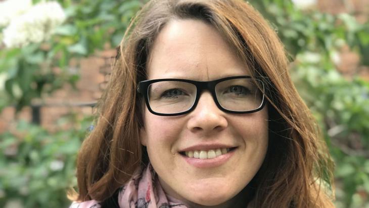 Rachel de Boor, 31, ist in Mecklenburg-Vorpommern in einer christlich geprägten Familie aufgewachsen. Foto:  Stephanie Haerdle