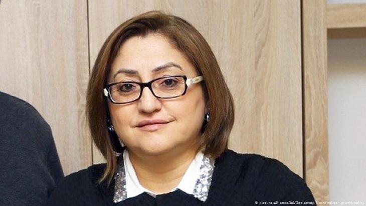 Die AKP-Politikerin und Bürgermeisterin von Gaziantep, Fatma Sahin; Foto: picture-alliance/AA
