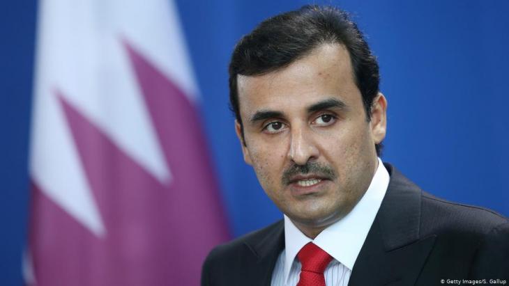 Der Emir von Qatar, Emir Tamim bin Hamad Al Thani; Foto: Getty Images/S.Gallup