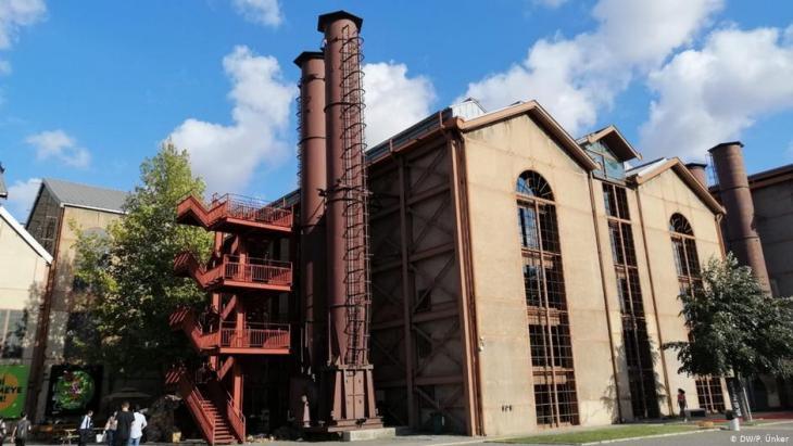 Die Bomonti-Brauerei im Istanbuler Stadtteil Sisli; Foto: DW