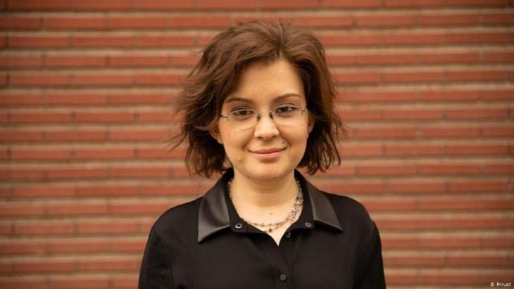 Özgenur Korlu von der Bildungsreforminitiative (ERG); Foto: privat