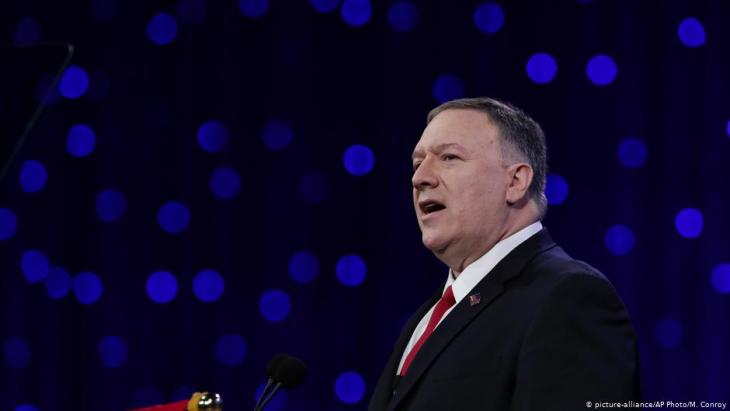 US-Außenminister Mike Pompeo; Foto: picture-alliance/AP