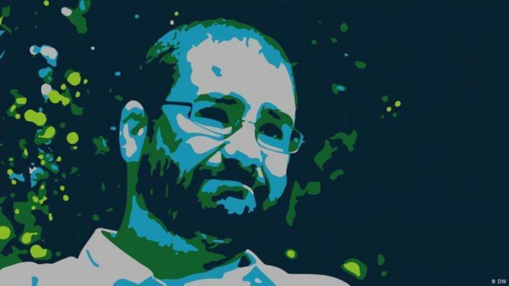 Der ägyptische Menschenrechtsaktivist und Blogger Alaa Abdel Fatah; Quelle: DW
