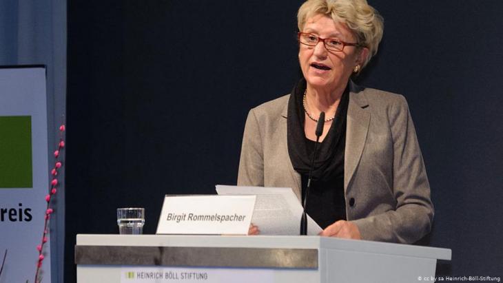 Die Psychologin und Genderforscherin Birgit Rommelspacher; Foto: Heinrich-Böll-Stiftung