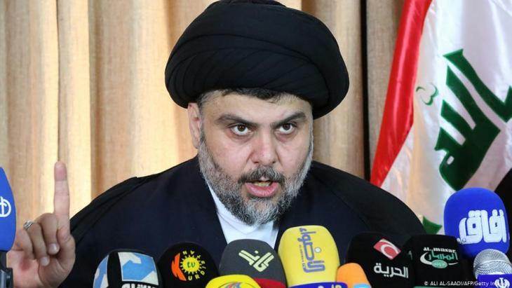 Iraks Schiitenführer Muktada al-Sadr; Foto: AFP/Getty Images