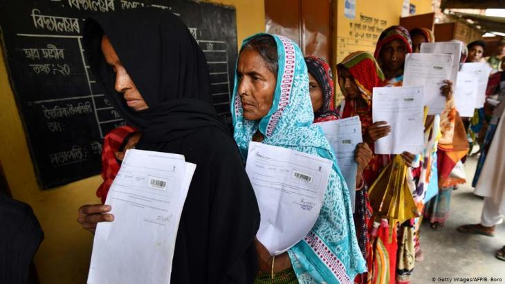 Muslime im indischen Bundesstaat Assam; Foto: AFP/Getty Images