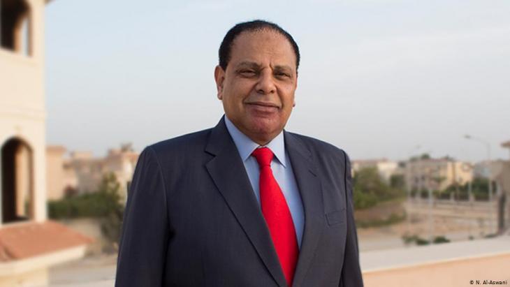 Der ägyptische Schriftsteller Alaa al-Aswani; Foto: N. Al-Aswani