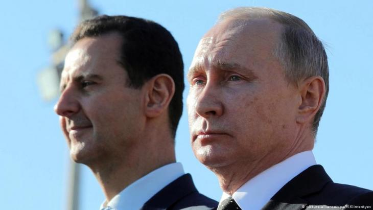 Assad und Putin; Foto: picture-alliance