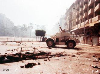 Bürgerkrieg im Libanon; Foto: AP