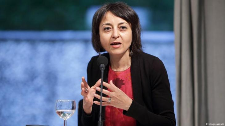 Die ägyptische Dichterin Iman Mersal; Foto: Imago