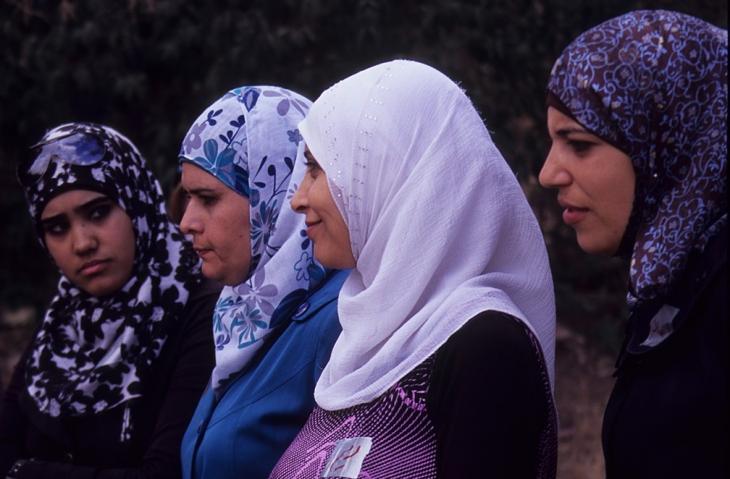 "Jordanische Frauen im ""Dar Amneh""; Foto: Claudia Mende"