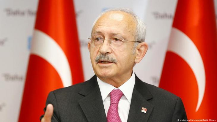 Der Vorsitzende der größten Oppositionspartei CHP Kemal Kiliçdaroğlu; Foto: picture-alliance/dpa