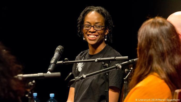 Die englische Schriftstellerin und Aktivistin Sharon Dodua Otoo gewann den Ingeborg Bachmann-Preis im Jahr 2016; Foto: Literatürk Festival