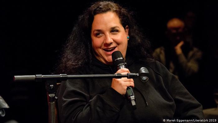 Die Bloggerin Nadia Shehadeh; Foto: Literatürk/Marek Eggeman