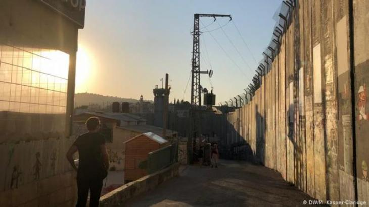 Grenzwall bei Bethlehem; Foto: DW/Kasper-Claridge