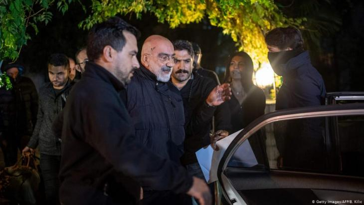Erneute Festnahme von Ahmet Altan in Istanbul; Foto: AFP/Getty Images
