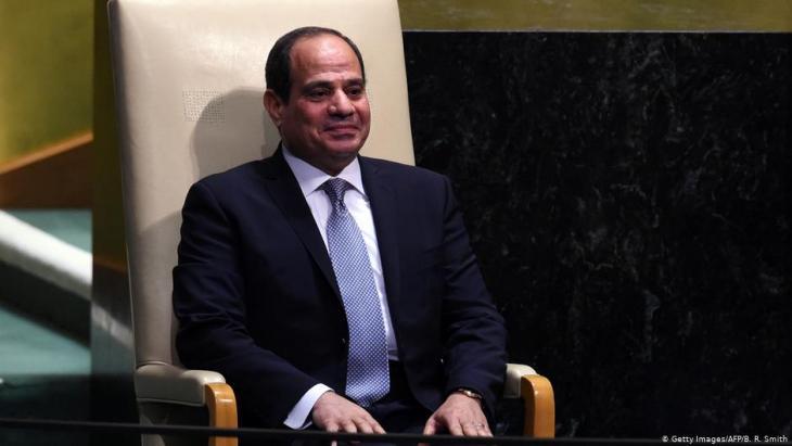Ägyptens Präsident Abdel Fattah al-Sisi; Foto: Getty Images/AFP