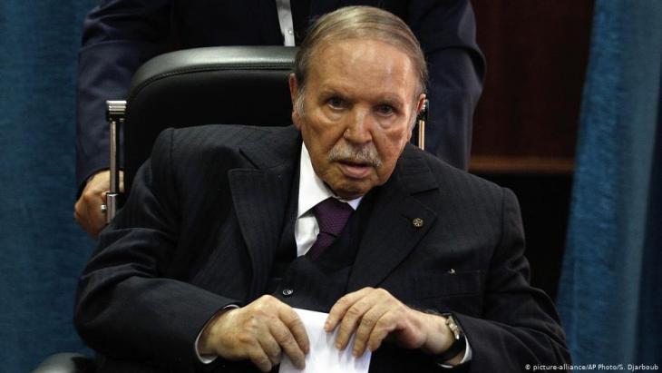 Algeriens Ex-Premier Abdelaziz Bouteflika; Foto: picture-alliance/AP